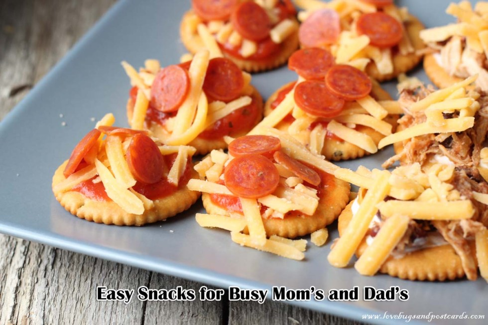 Easy fun snacks for busy moms