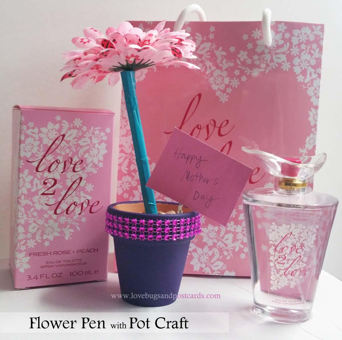 Flower Pen and Pot Craft