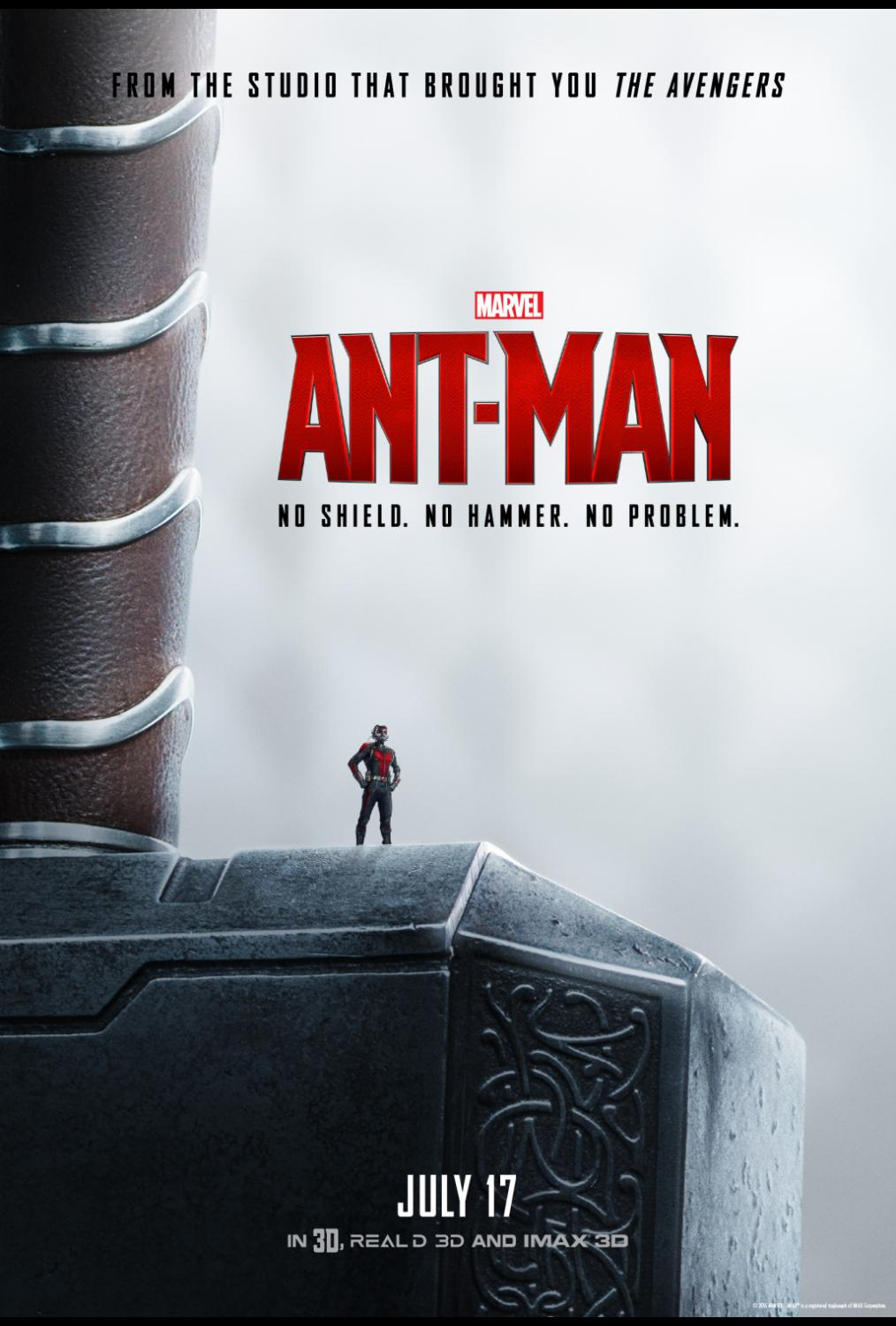 Marvel's Ant Man in Theaters 7/17 #AntMan