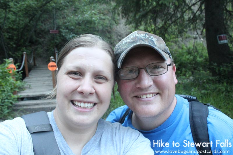 Hike to Stewart Falls (by Provo, Utah)