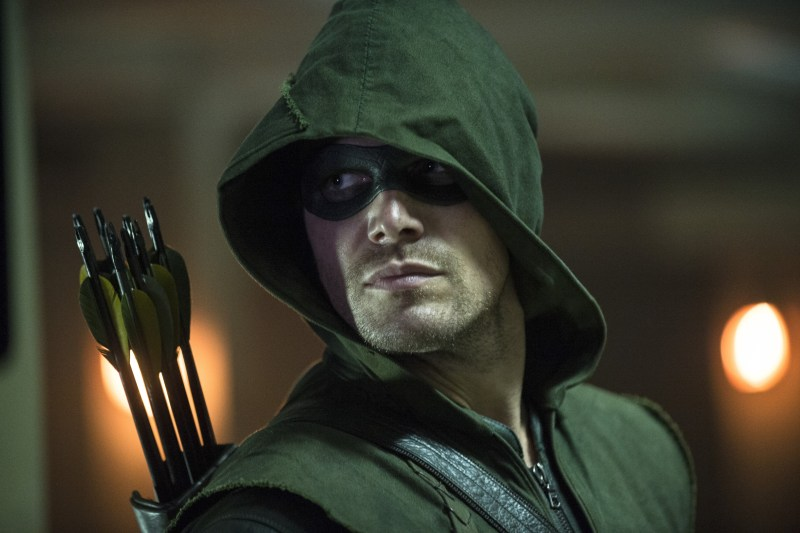 "Arrow -- ""The Calm"" -- Image AR301a_0460b -- Pictured: Stephen Amell as The Arrow -- Photo: Cate Cameron/The CW -- © 2014 The CW Network, LLC. All Rights Reserved."