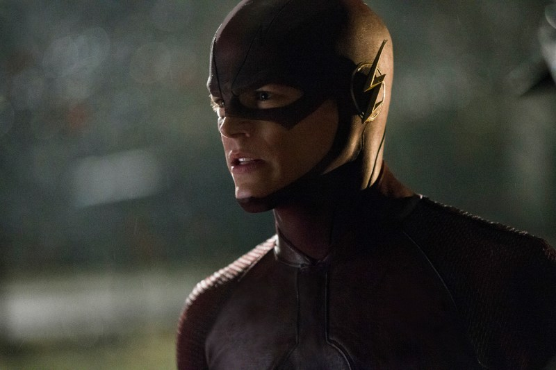 """The Flash -- """"Pilot"""" -- Image FLA101f_0817 -- Pictured: Grant Gustin as The Flash -- Photo: Jack Rowand/The CW -- © 2014 The CW Network, LLC. All rights reserved"""