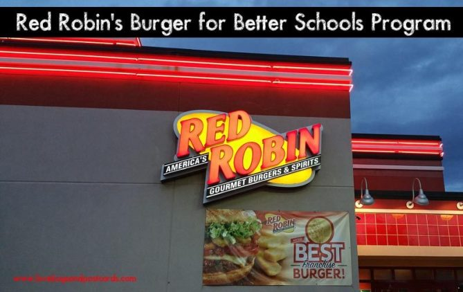 Red Robin's Burger for Better Schools Program