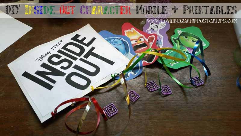 DIY Inside Out Mobile + Printables