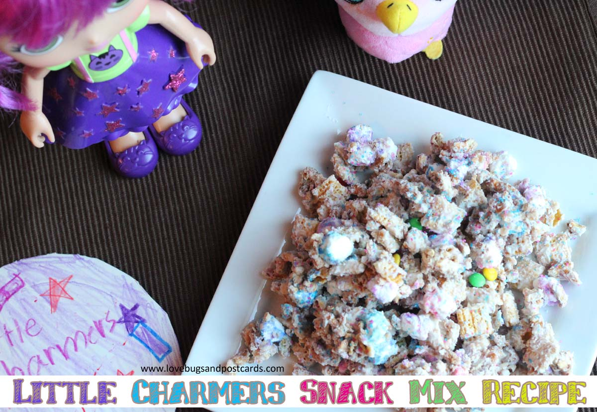 Little Charmers Snack Mix Recipe