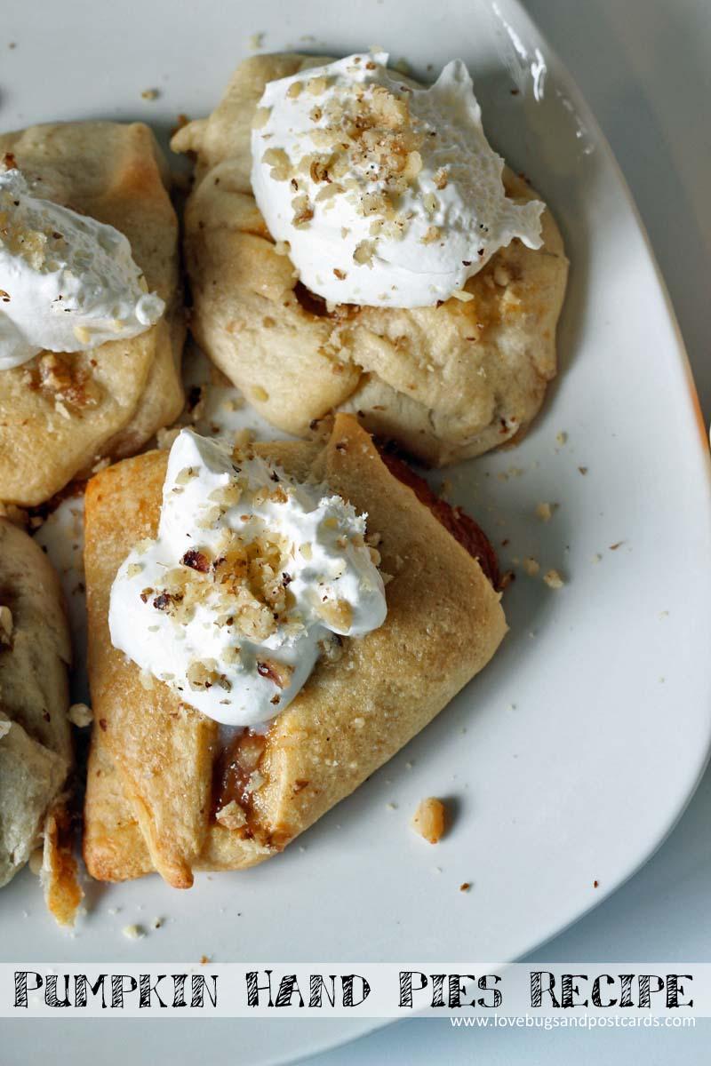 Pumpkin Hand Pies Recipe
