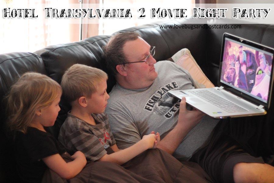 Hotel Transylvania 2 Movie Night Printables and Treats