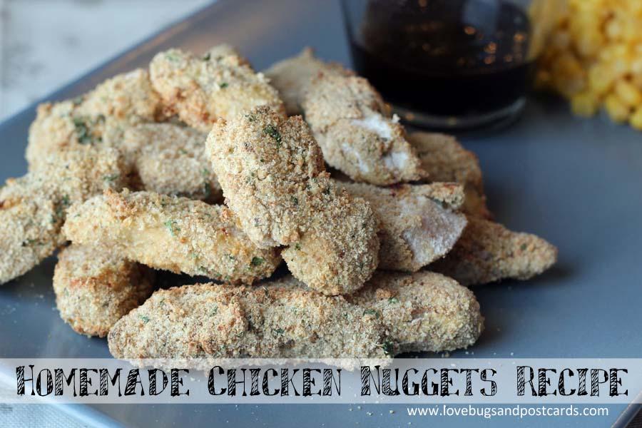 Homemade Chicken Nuggets Recipe