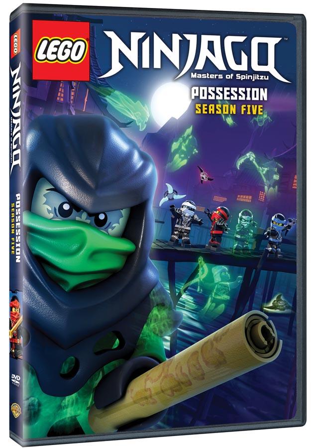 LEGO® NINJAGO™: Masters of Spinjitzu Season 5 on DVD