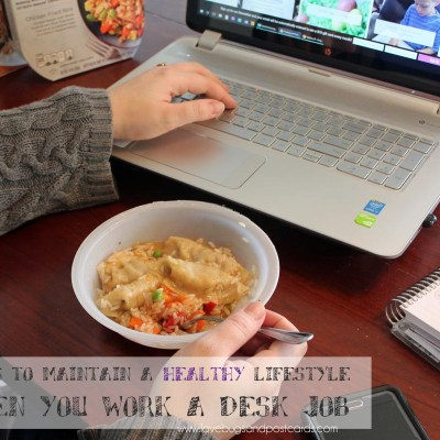 5 ways to maintain a healthy lifestyle when you work a desk job
