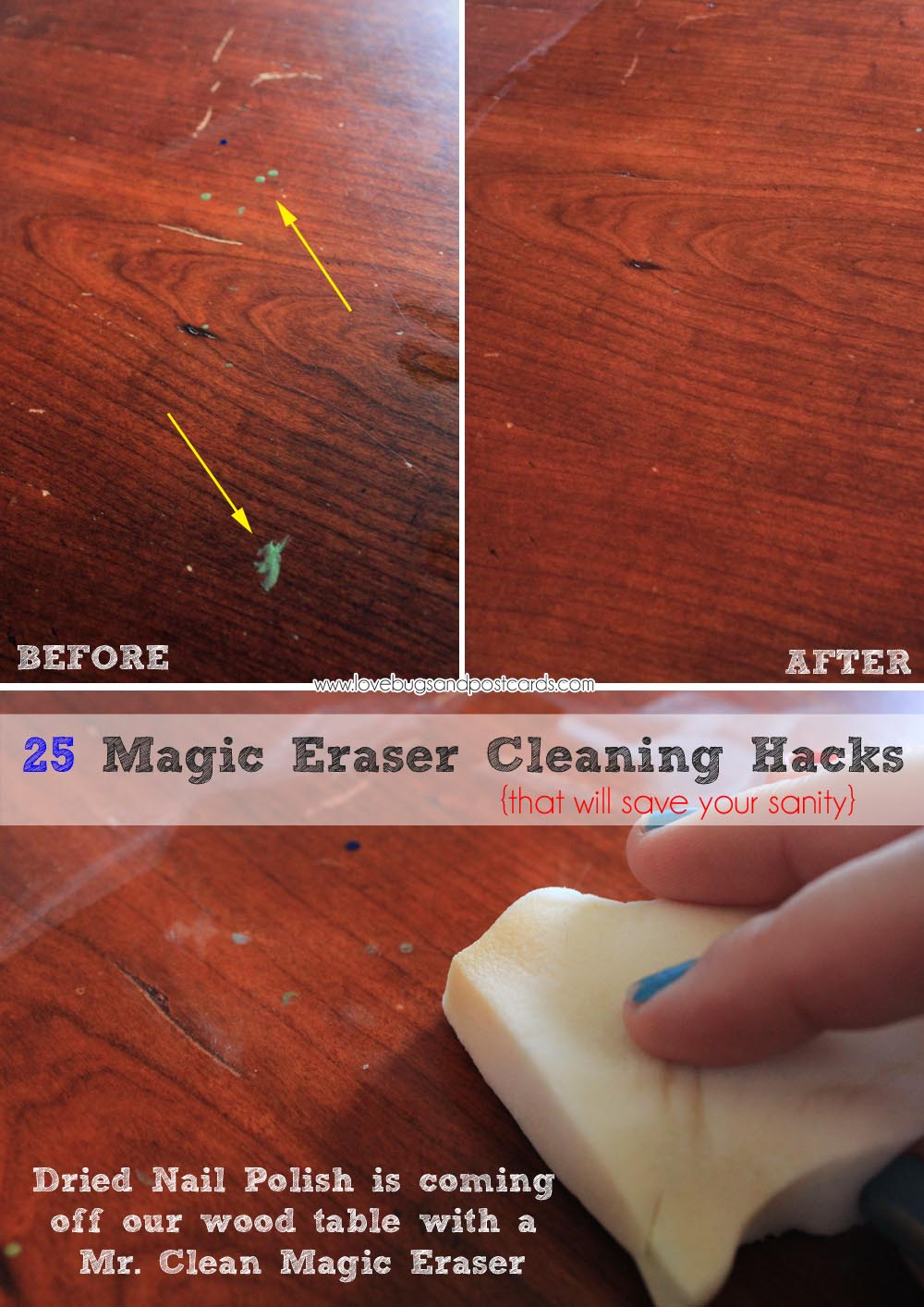 25 Magic Eraser Cleaning Hacks That Will Save Your Sanity