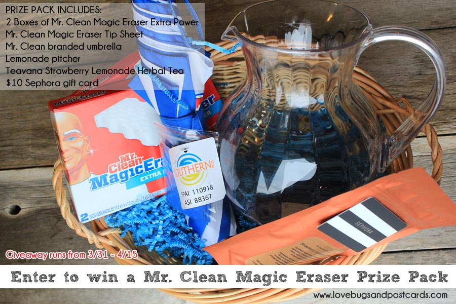 Mr Clean Prize Pack Giveaway