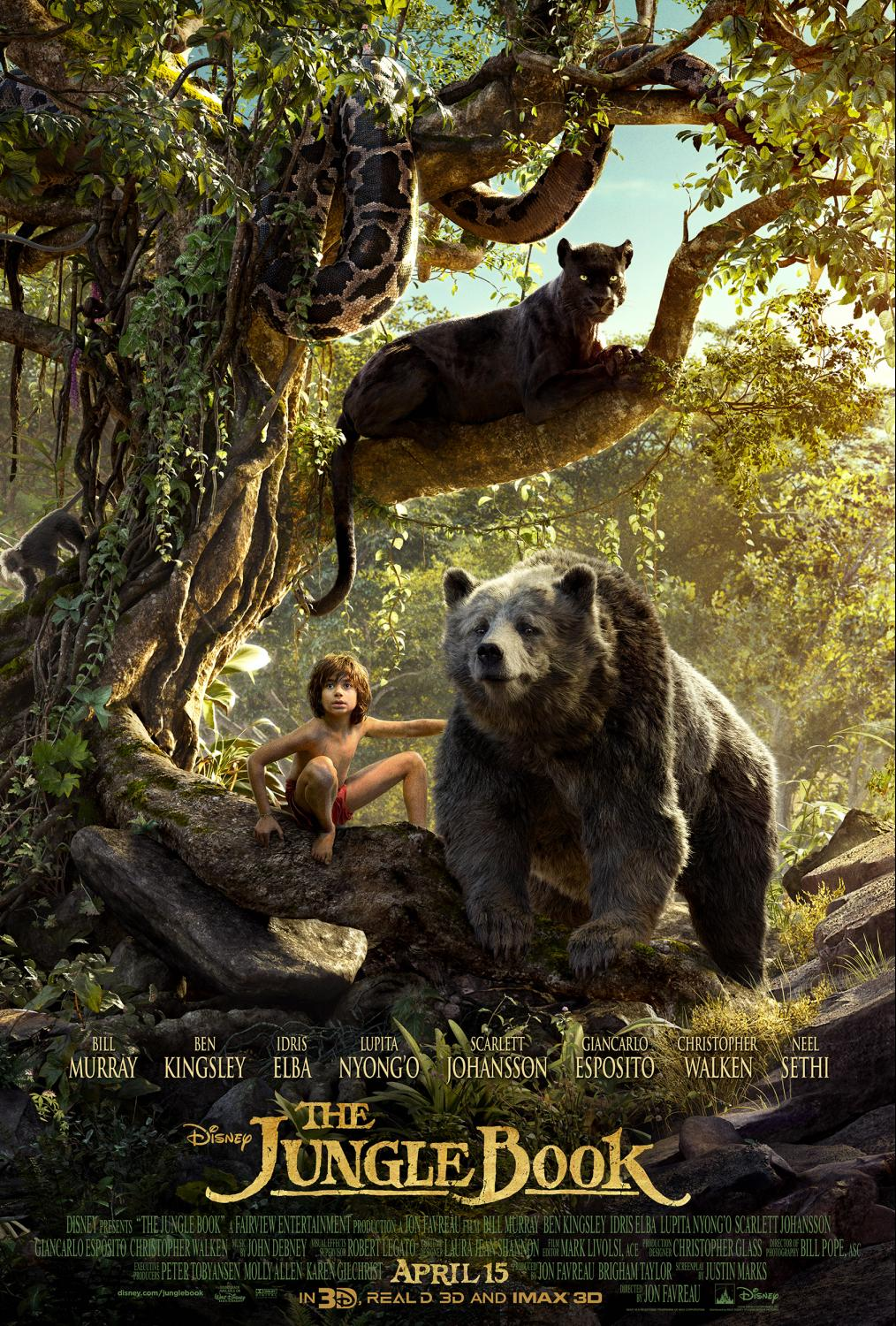 With Disney's THE JUNGLE BOOK