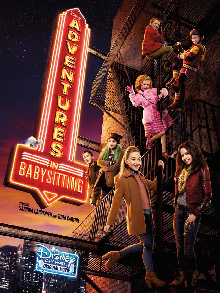 Adentures in Babysitting Poster