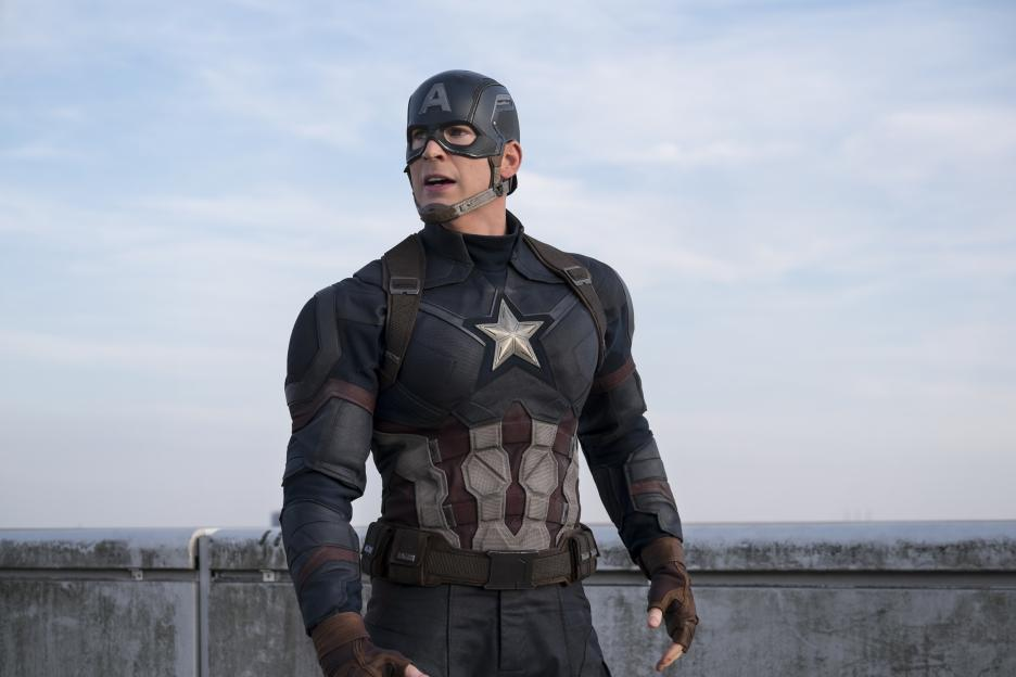 Exclusive interview with Chris Evans about #CaptainAmericaCivilWar #CaptainAmericaEvent #TeamCap