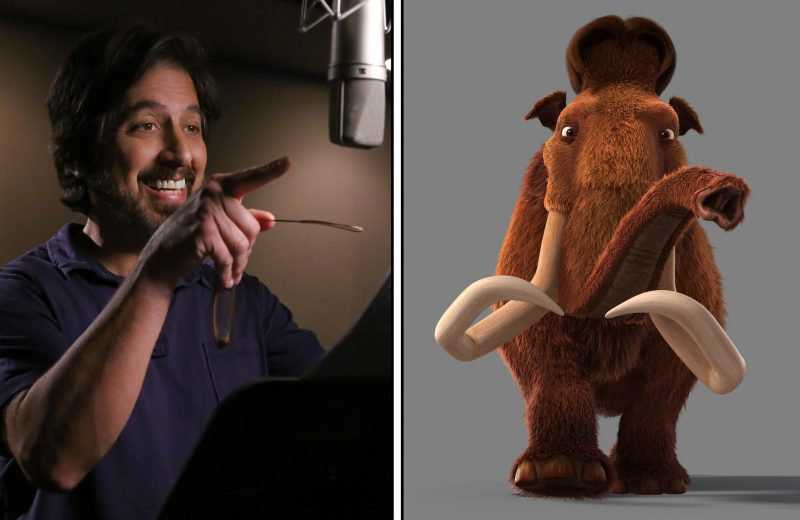 Ray Romano as the voice of Manny