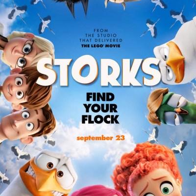 Warner Bros. Pictures 'STORKS' Prize Pack Giveaway ($25 gift card + swag) #STORKS