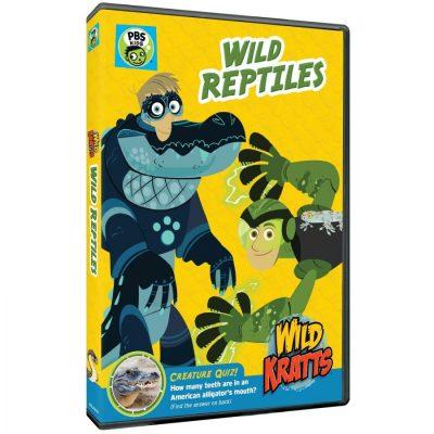 Wild Kratts: Wild Reptiles on DVD