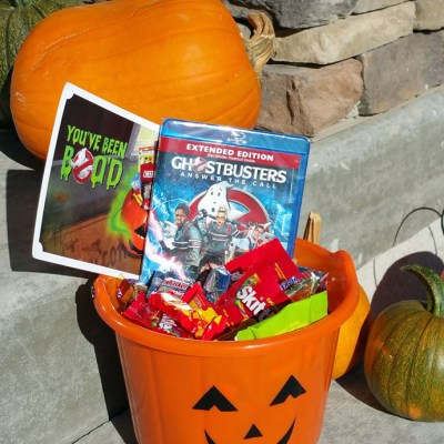 BOO your friends and family with the Ghostbusters! #BooItForward