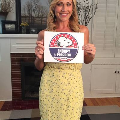"""Interview with Nikki DeLoach about """"Peanuts Rock the Vote"""" 2016"""