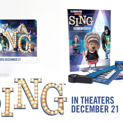 Universal Pictures 'Sing' prize pack + $25 Fandango gift card giveaway #SingMovie
