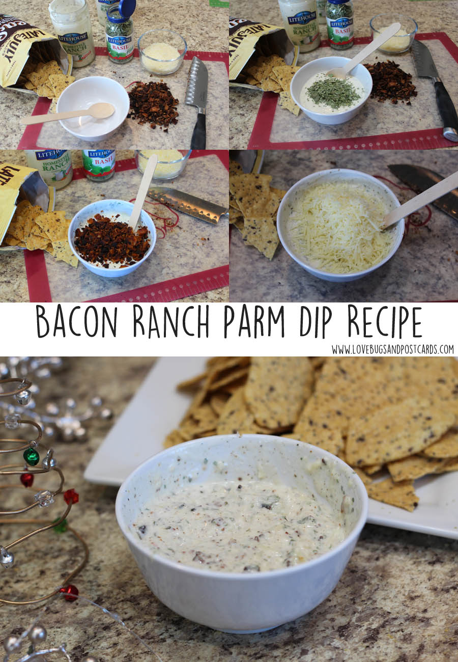 Bacon Ranch Parmesan Dip Recipe