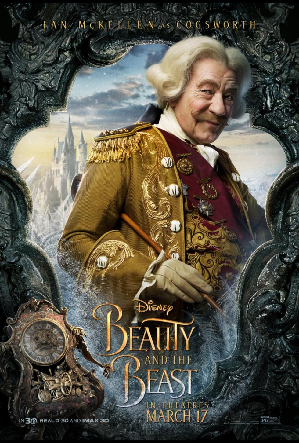 Disney's BEAUTY AND THE BEAST Character Posters #BeOurGuest