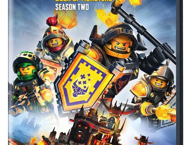 LEGO® NEXO Knights – Season 2: Book of Monsters on DVD 1/17/17
