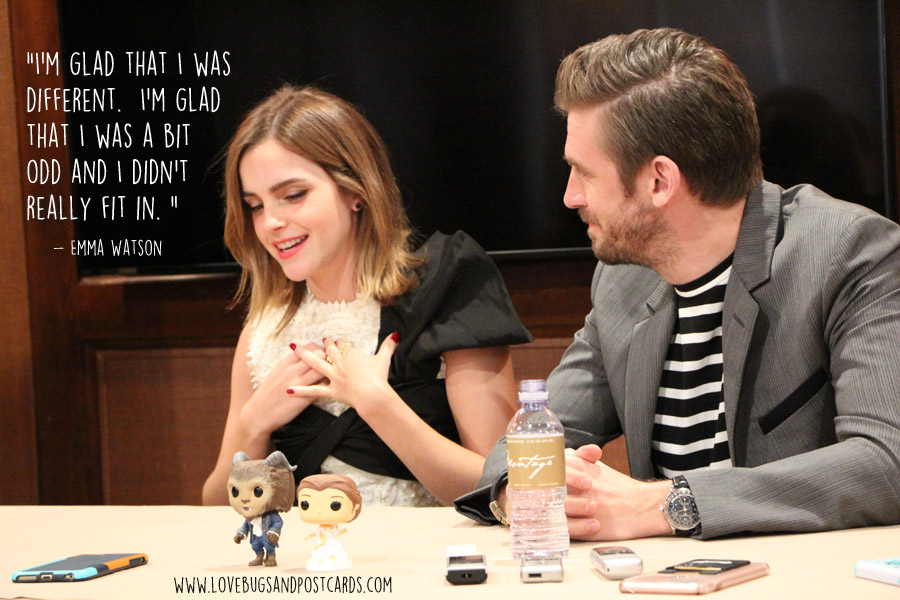 Exclusive Interview with Emma Watson and Dan Stevens about Disney's #BeautyAndTheBeast