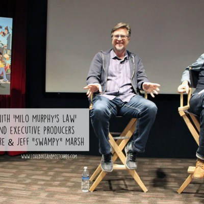 "Q&A with 'Milo Murphy's Law' creators and executive producers Dan Povenmire & Jeff ""Swampy"" Marsh #MiloMurphysLaw"