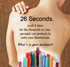 26 seconds to absorb into skin!