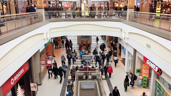 Boxing Day in Polo Park. Winnipeg