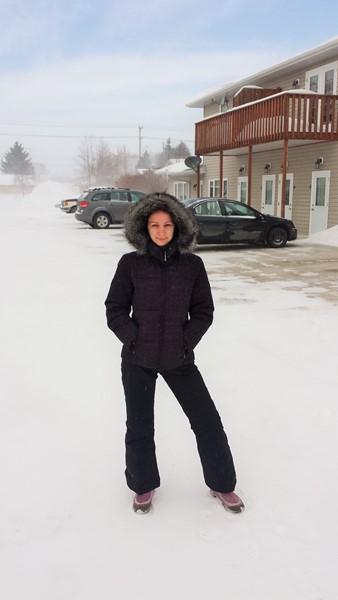 winter in Morden 2014