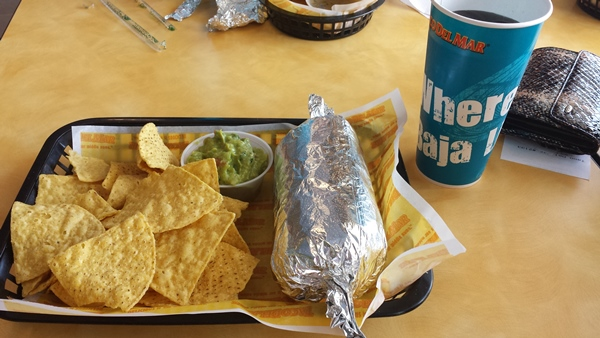 "Бурито в ""Taco Del Mar"""