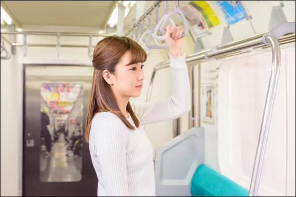 出会いの場 通勤電車