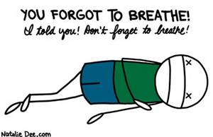 Breathe…start the day calm if you can!