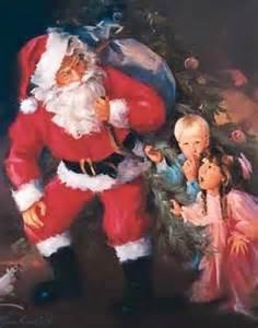 santa-and-children