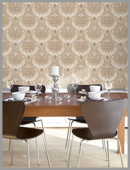 This Print Called Lotus Comes In 30 Different Colourways And Is Available 2 Sizes All Of Farrow Ball Wallpaper Made To Order