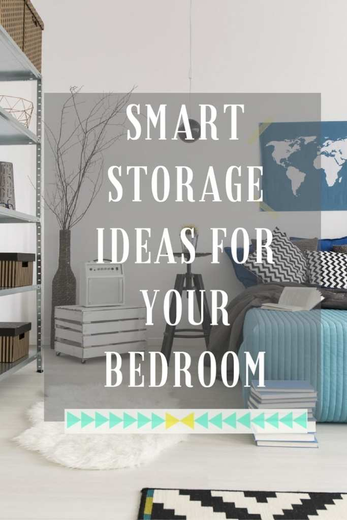 Smart storage ideas for your bedroom - lots of creative and practical ways that you can incorporate smart storage into your own home. Click through to find out which tips would suit your home.