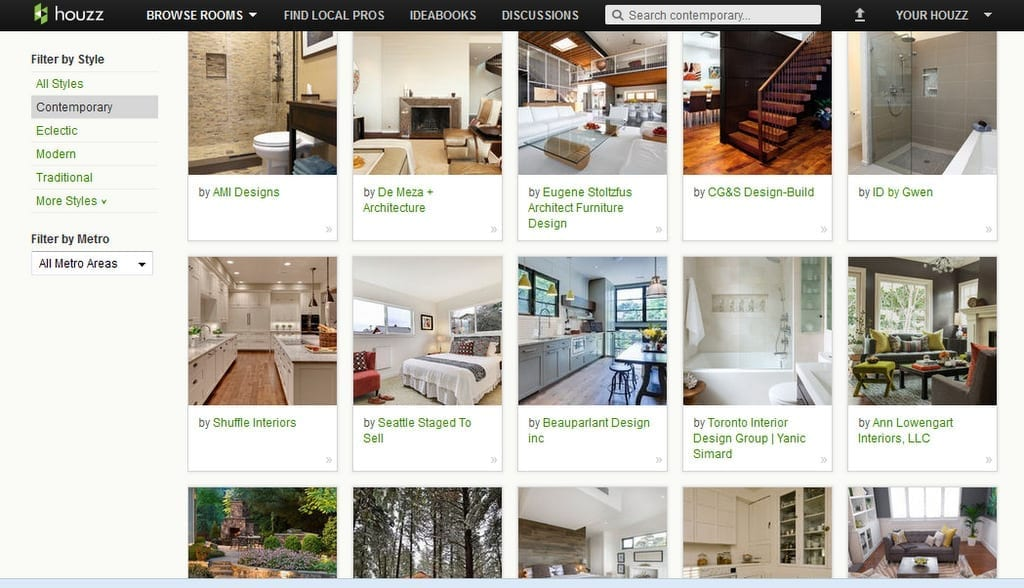 houzz mobile app