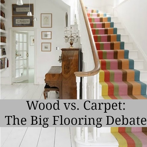 Wood Versus Carpet The Big Flooring Debate Love Chic Living