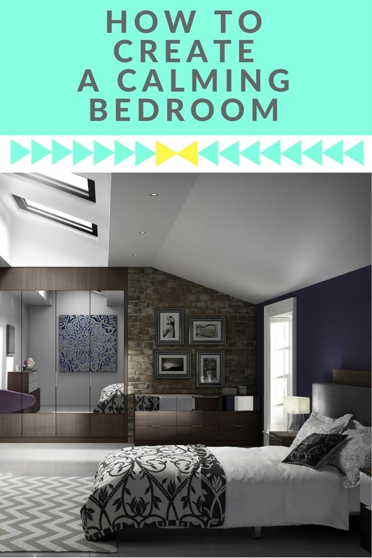 By installing fitted wardrobes a bedroom can stay uncluttered and make a space feel calmer. Click through for some ideas on how to create a calm space in any bedroom...
