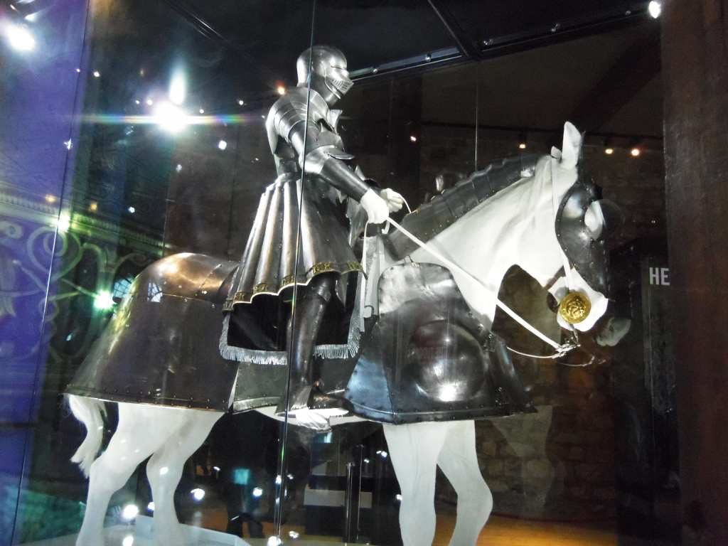 Henry VII's armour at the Tower of London