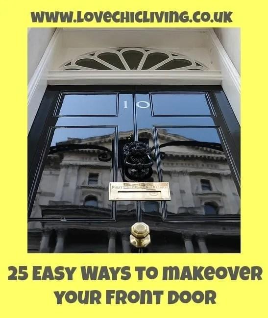 how to update your front door