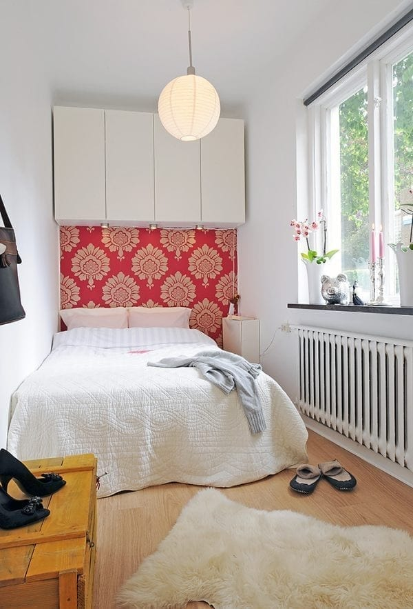 how to make the most of a small bedroom - love chic living