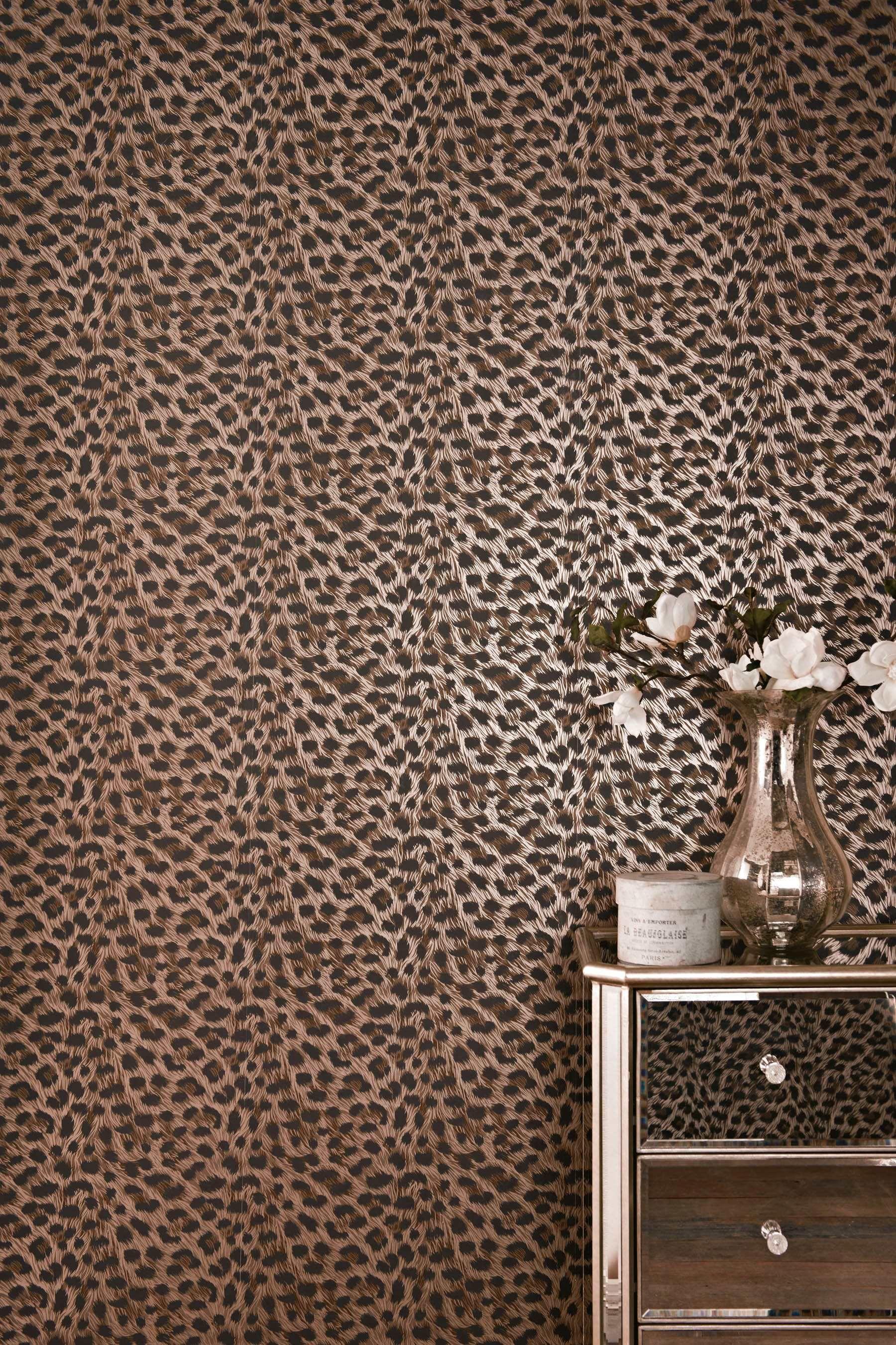 Wallpaper Wednesday: Leopard Print Wallpaper from Next ...