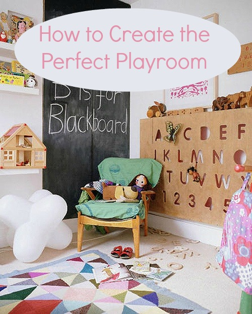 Top Tips on creating your kids' perfect playroom