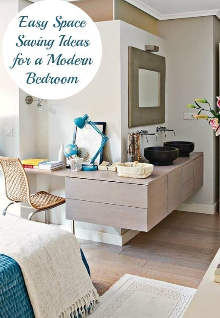 Top Tips on how to make the most of your small bedroom