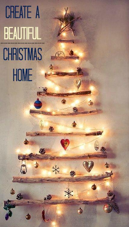 beautiful Christmas home