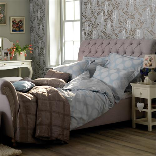 Henrietta bed from Feather and Black